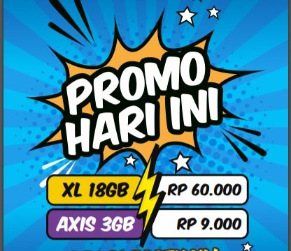 Promo XL Axis Hari Ini